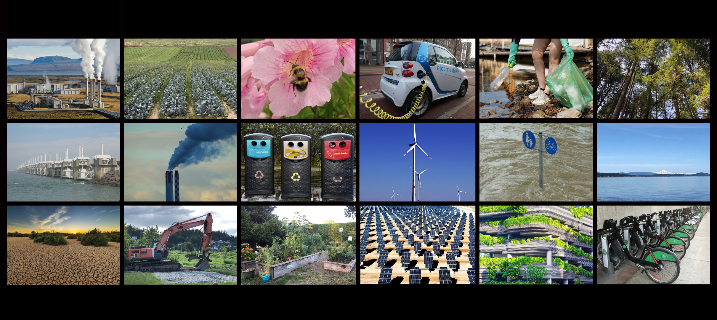 Photo Montages for Environmental Issues