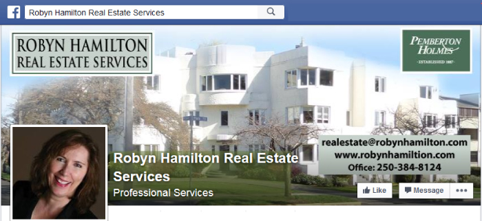 Facebook-Page-Victoria-BC-Real-Estate-Agent