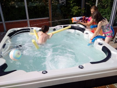 Kids and Hot Tubs