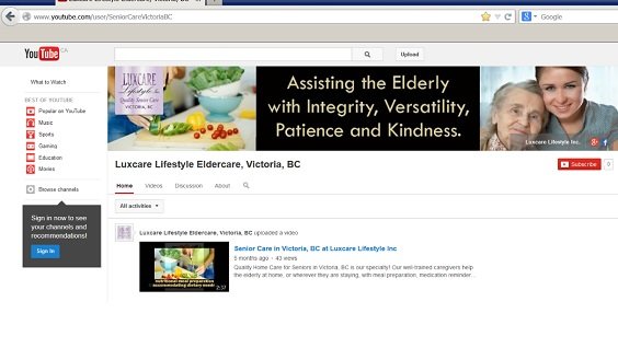 Luxcare-Lifetyle-Senior-Care-YouTub-Channel