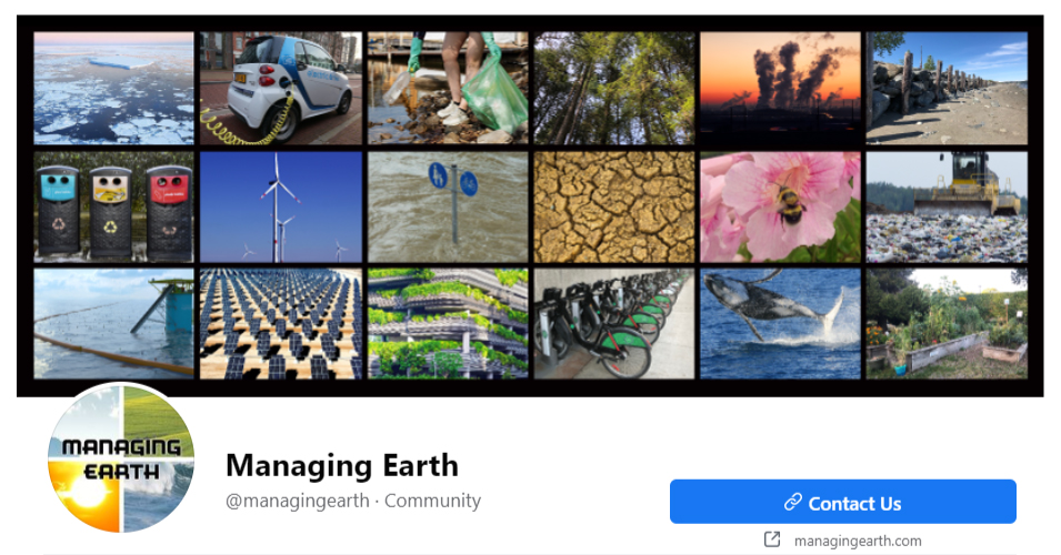 Social Media for Environmental Facebook Pages